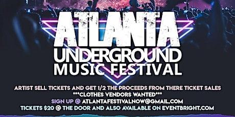 Atlanta Underground Music Festival tickets