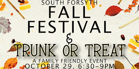 South Forsyth Trunk or Treat & Fall Festival tickets