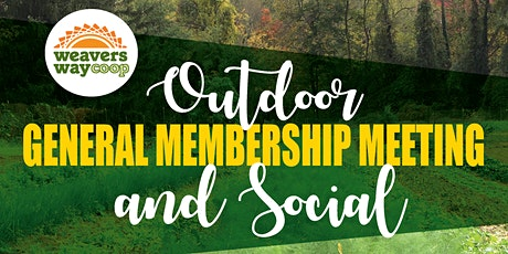 Co-op General Membership Meeting and Outdoor Social tickets