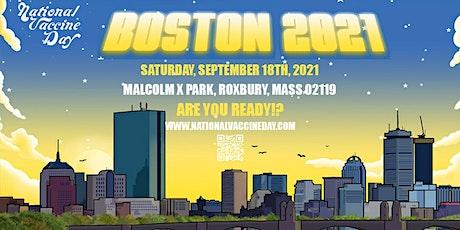 Boston Vaccine Day tickets