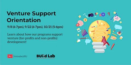 Venture  Support Orientations tickets