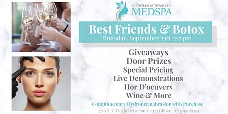 Best Friends and Botox tickets