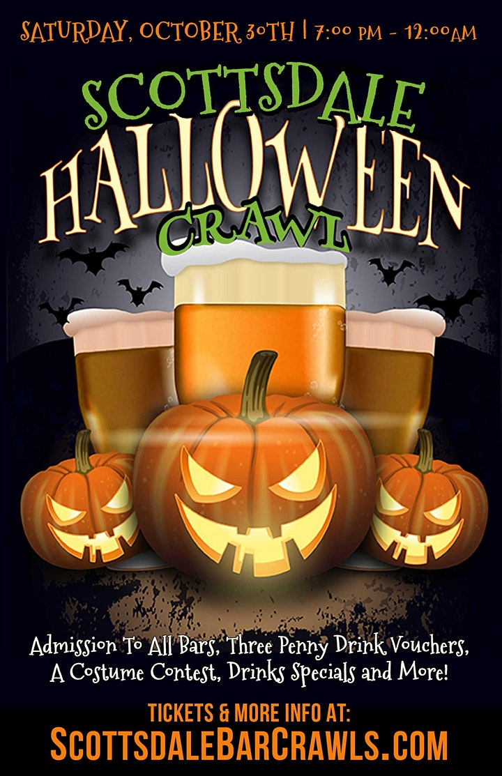 Scottsdale Halloween Crawl in Old Town image