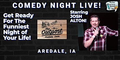 AREDALE, IA  | Pub & Grub Comedy with JOSH ALTON + BEN MARCOTTE! tickets