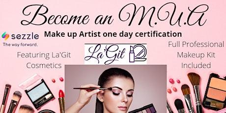 Makeup Artist Certification Class tickets