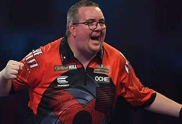 An Evening of Exhibition Darts with Stephen Bunting image
