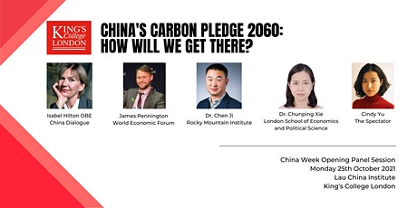 China's 2060 Carbon Pledge: How Will We Get There? tickets