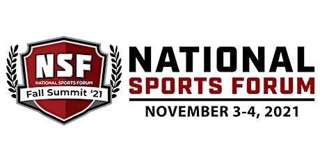National Sports Forum | Fall Summit tickets