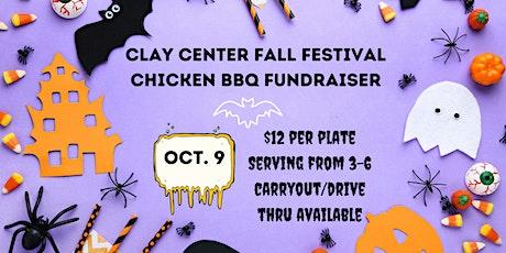 Clay Center Fall Fest Chicken BBQ Dinner Fundraiser tickets