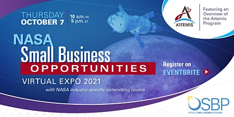 NASA Small Business Opportunities Virtual Expo 2021 Tickets