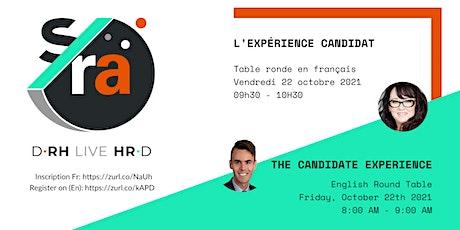 D-RH Live HR-D : l'Expérience Candidat tickets