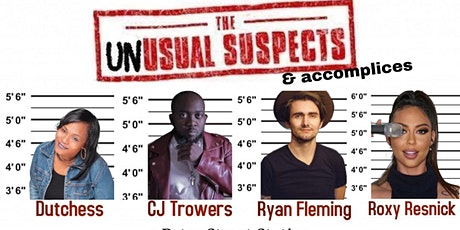 The Unusual Suspects Comedy Show tickets