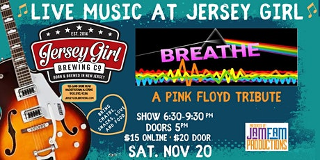 Breathe: A Pink Floyd Tribute @ Jersey Girl Brewing! tickets