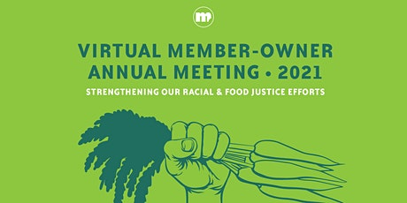 2021 Virtual Annual Member-Owner Meeting tickets