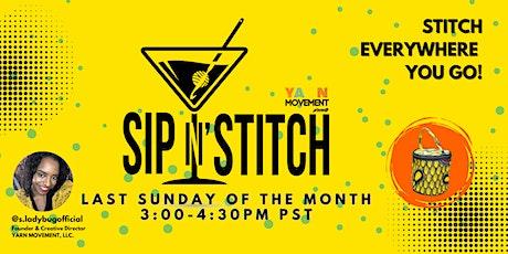 YM SIP N' STITCH  (Virtual) Hosted by S.LadyBug tickets