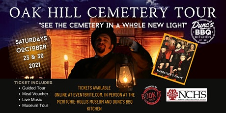 """Oak Hill Cemetery Tour """"See the Cemetery in a Whole New Light"""" tickets"""