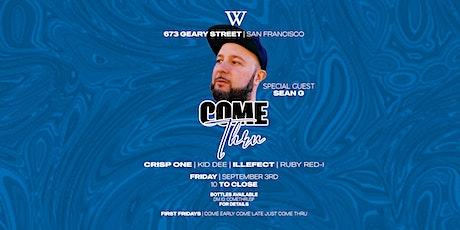 COME THRU - AT WONDER SAN FRANCISCO tickets