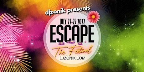 """ESCAPE """"THE FESTIVAL"""" tickets"""