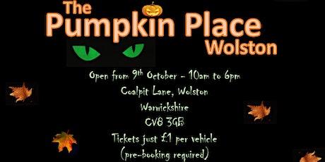 The Pumpkin Place Wolston tickets