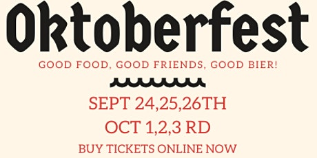Oktoberfest at Brauwerk Hoffman tickets