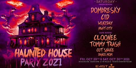 HAUNTED HOUSE PARTY 2021 (SATURDAY) tickets