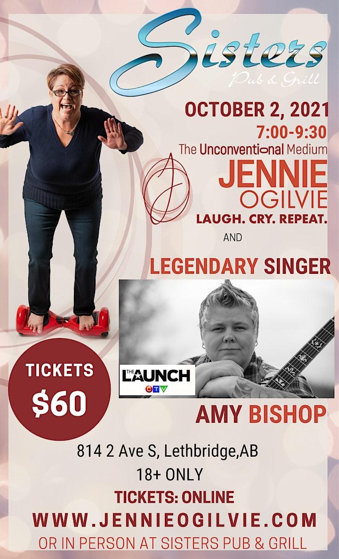 JENNIE OGILVIE  & AMY BISHOP - Live in LETHBRIDGE, AB image