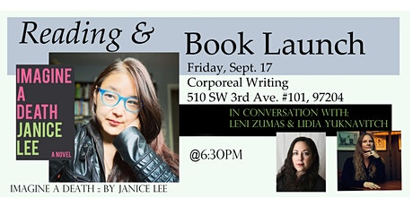 Imagine A Death by Janice Lee, Book Launch & Reading tickets