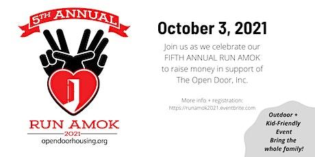 Fifth Annual Run Amok tickets