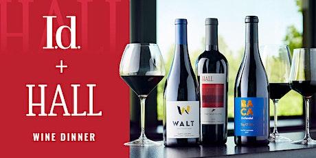 I.d. + Hall Wine Dinner tickets