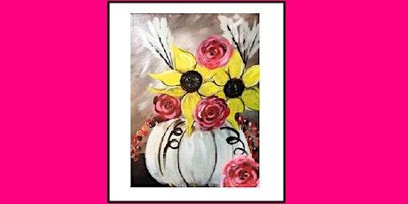 Pumpkin & Sunflower, Paint Night tickets