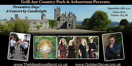 """The Meadows present """"Dreamless Days"""" -  a Concert by Candlelight tickets"""