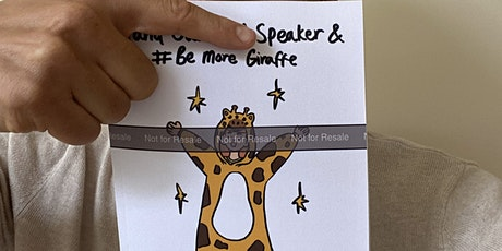 Book Launch - Stand Out As A Speaker & Be More Giraffe tickets