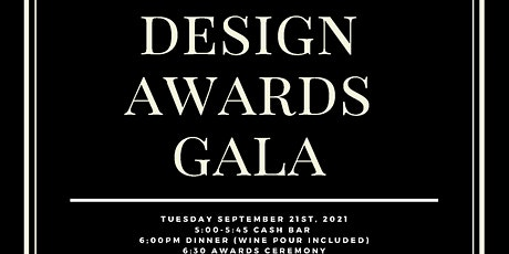 Design Awards Gala tickets