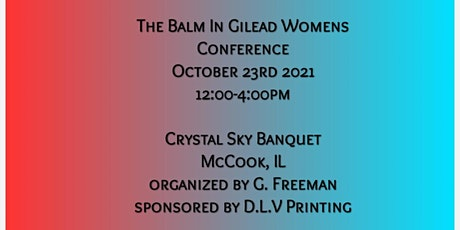 """The Balm In Gilead Woman's Conference   """"It's Time to Change The Game"""" tickets"""