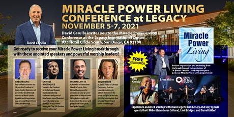 Miracle Power Living Conference at Legacy tickets