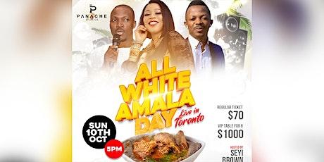 ALL WHITE AMALA DAY & ICEBERG THE MOVIE PREMIERE tickets