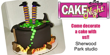 Halloween CakeNight - Sherwood Park Log Cabin - Cauldron tickets