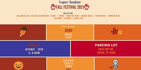 2nd Annual Fall Festival Event tickets