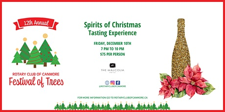 The Rotary Festival of Trees - The Spirits of Christmas Tasting Experience tickets