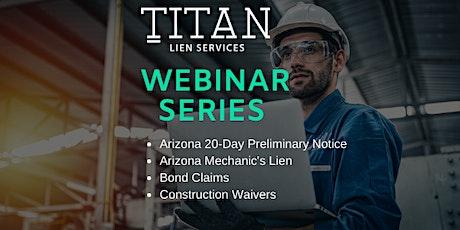 Titan Webinar Series tickets