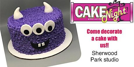 KIDS Halloween CakeNight - Sherwood Park Log Cabin - Monsters tickets