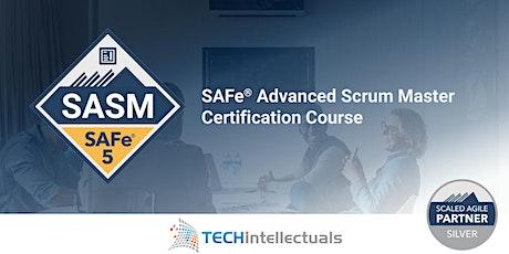 SAFe Advanced Scrum Master Certification - SAFe SASM 5.1 - Remote Training tickets