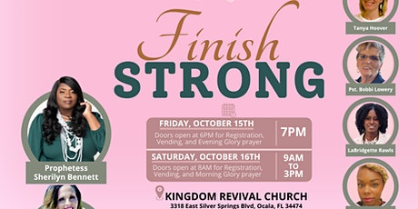 Women Walking on Purpose Conference 2021: Finish Strong tickets