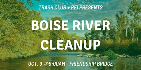 Boise River Cleanup tickets