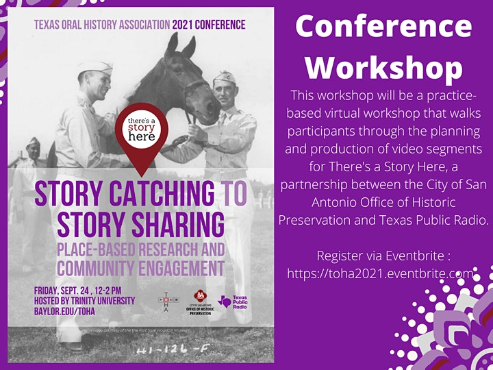 Texas Oral History Association 2021 Conference image