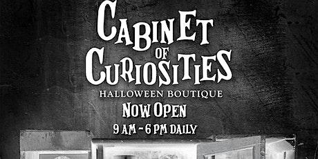 Halloween Boutique Opening •  Cabinet of Curiosities tickets