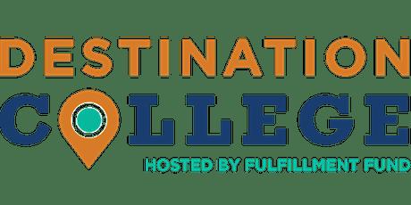 2021 Destination College - Inscripción Para Familias entradas