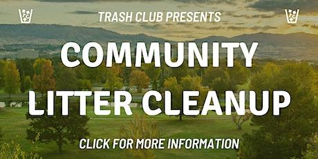 Garden City Litter Cleanup tickets