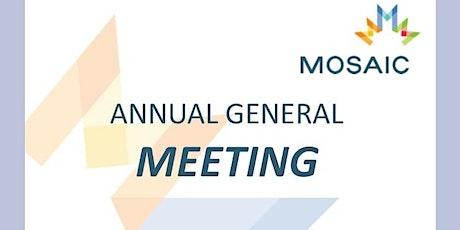 2021 MOSAIC Annual General Meeting (AGM) tickets
