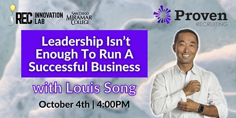 Leadership Isn't Enough To Run A Successful Business ft. Proven Recruiting tickets